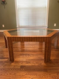 """Coffee table Italian Style 51 1/2"""" Point to Point 44 3/8"""" flat side to flat side 16 3/4"""" tall Charlotte, 28269"""