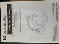 Brand new sand filter pump for above ground pool Abbotsford, V2T 4Z2