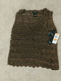 brown and black knitted sweater Nokesville, 20181