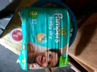 New pampers size. 3 Baldwin Park, 91706