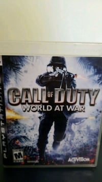 Call of Duty World at War Xbox 360 game case South Elgin, 60177