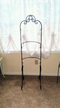 Wrought Iron Rack Stand