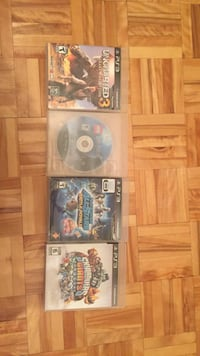 4 PS3 games (good condition) Laval, H7G