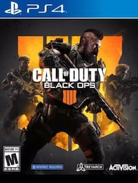 Call of Duty Black Ops 4 ps4 brand new Vaughan, L4J 6S1