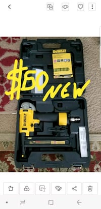 black and yellow DeWalt power tool San Diego, 92113