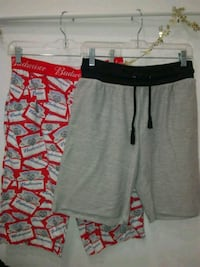 gray and red Nike shorts Ames, 50010