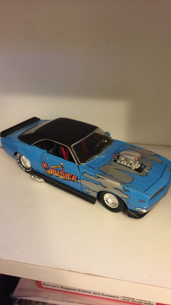 1/24 scale '68 Camaro SS (Drag Car)