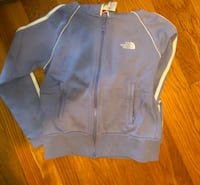 North face small women's zippered sweatshirt  Somers, 10589