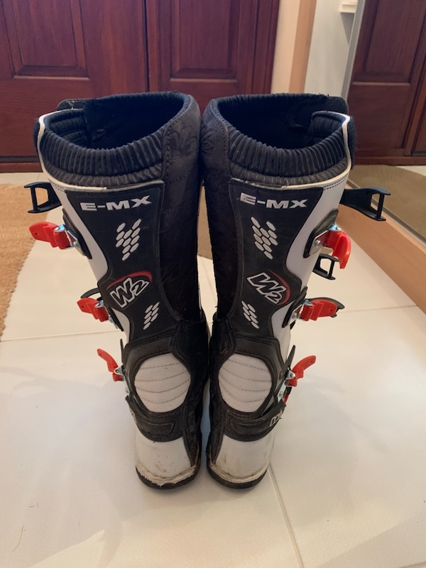 W2 Motocross Boots 2