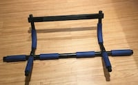 Door_ hang Pull -up Bar / Push-up Rack , great condition