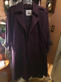 Purple trench coat Kelso, 98626