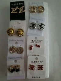 NEW Assorted Earrings,$ 7 each pair. London, N6C 4W2