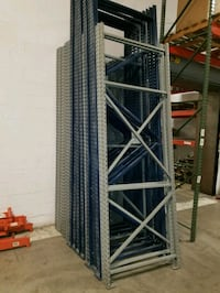 10 and 12 ft pallet racking Columbus, 43228