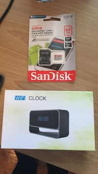 Wifi clock and 64 gb memory card Cleveland, 37323