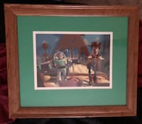 Framed Disney Toy Story Lithograph Art High Point, 27265