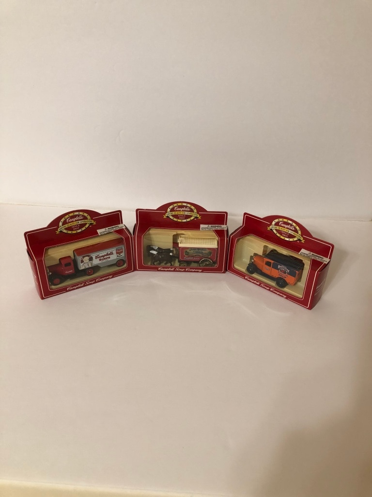 Photo Campbell's Soup 100th Anniversary Die-Cast Car Model Souvenir