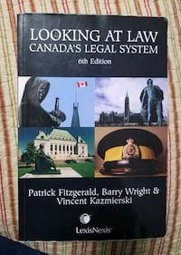 LOOKING AT LAW CANADA'S LEGAL SYSTEM  Toronto, M9W