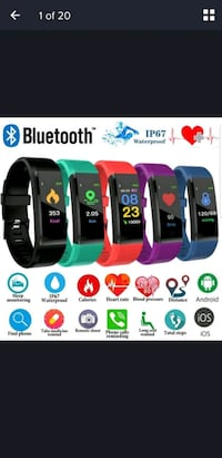 Brand new Bluetooth smart wrist band watches Capitol Heights, 20743