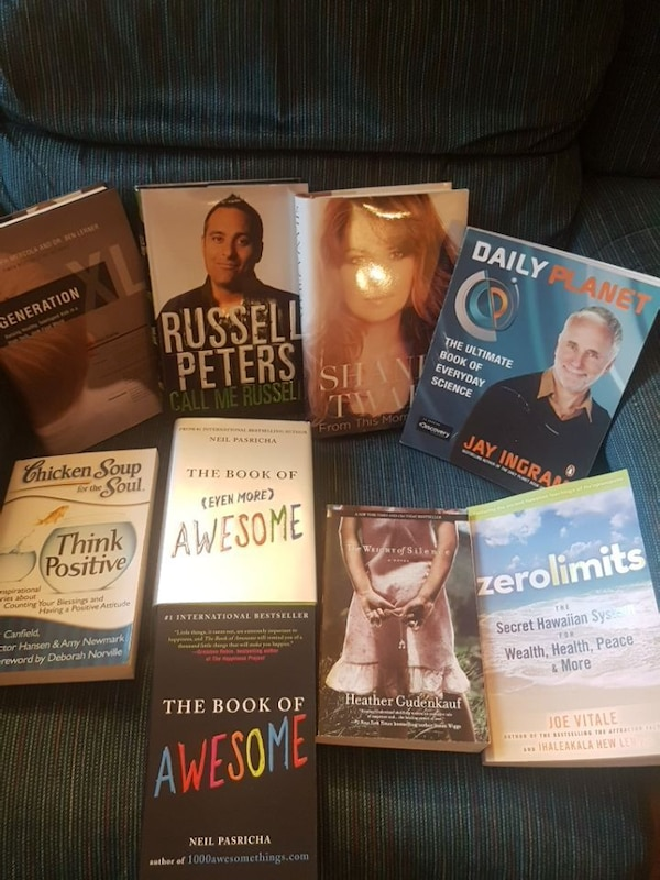 Variety of books $5 each