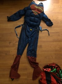 Superman costume w/o cape  West Covina