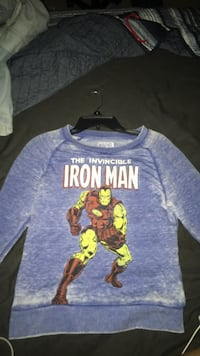 Girl's Size Extra Small Marvel Vintage Iron Man Sweater Daphne, 36526