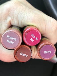 LipSense  New and unopened. $25 each or all for just $75
