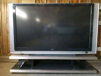 """72"""" Sony projection TV with stand made specificall Albuquerque"""