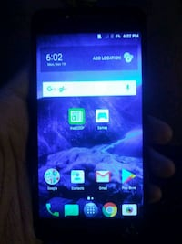 black alcatel  Android smartphone Oklahoma City, 73119