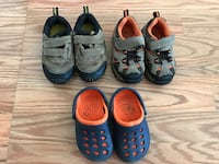 Size 5 baby boy shoes lot Seaside, 93955