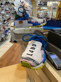 Adidas Pharrell X NMD Human Race Trail Solar Pack Mother Size 6 Silver Spring, 20902