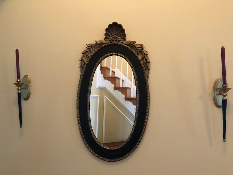 Oval framed mirror from Paragon Picture Gallery a67f35df-b2c9-42fd-8656-f23d44f40104
