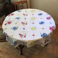 Vintage 1950's Table Cloth Markham, L3T 3L5