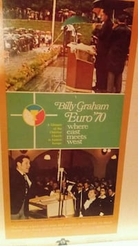 **BILLY GRAHAM** Euro 70 where east meets west.
