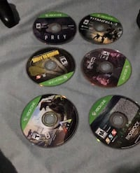 Lot of Xbox One Games 20$ Each