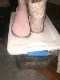 pair of pink UGG sheepskin boots Baltimore, 21215
