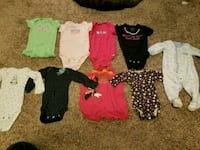 toddler's assorted clothes 838 mi