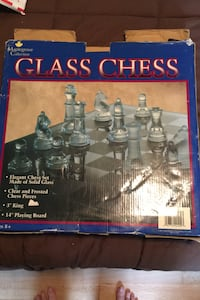 Maplegrove Collection  Glass Chess Vancouver, 98665