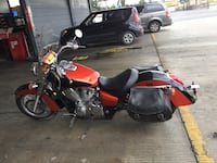 red and black touring motorcycle Moreno Valley, 92555