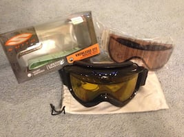 Winter Skiing, Snow Mobile, Snowboarding Goggles