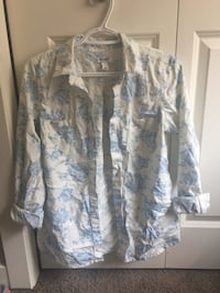 Floral button-up shirt Calgary