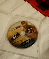 Ufc 3 ps3 game with created characters