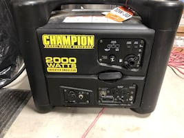 Champion portable inverter generator