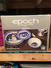 Epoch Christmas dishes