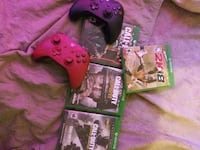 Xbox one games and controller Detroit, 48208