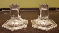 Tiffany & Co. crystal candleholders SIOUXFALLS