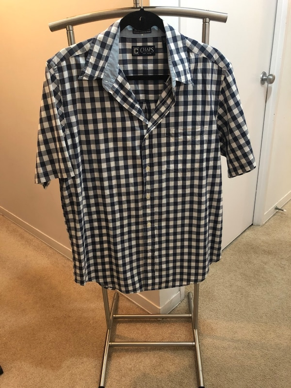 1c3c4e1f10a1 Used Black and white checkered dress shirt for sale in Toronto - letgo