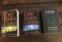 Lord of the Rings Part 1, 2 and 3
