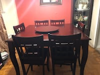 8 piece dining table Toronto, M4A 1W3