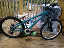 Dirt jump Mountain bike for trade with 17 or 18 rims 5x114