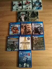 5ps3 games and 4ps4 games Dimondale, 48821